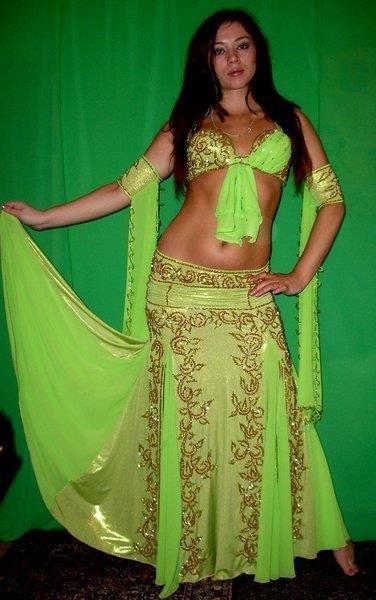 Костюм для египетского танца фото