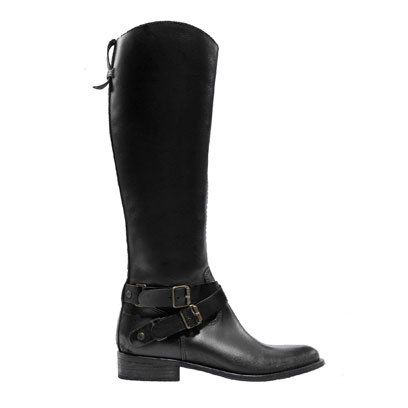 Black Riding Boot Zara (boots, the only thing I like about fall)