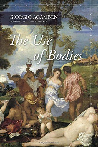 The Use of Bodies (Meridian: Crossing Aesthetics) - Giorgio Agamben's Homo Sacer was one of the seminal works of political philosophy in recent decades. It was also the beginning of a series of interconnected investigations of staggering ambition and scope, investigating the deepest foundations of Western politics and thought. The Use of Bodies represents the ninth and final volume in this twenty-year undertaking, breaking considerable new ground while clarifying the stakes and implications