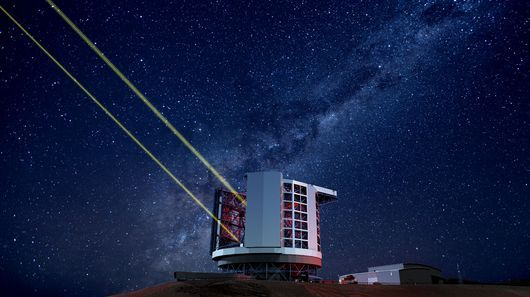 When fully operational, the Giant Magellan Telescope will look further into space and farther back in time than any telescope ever made