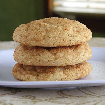 Thick and Chewy Snickerdoodles - I've tried different Snickerdoodle recipes and this one is a favorite. Make sure to slightly under bake for best results.