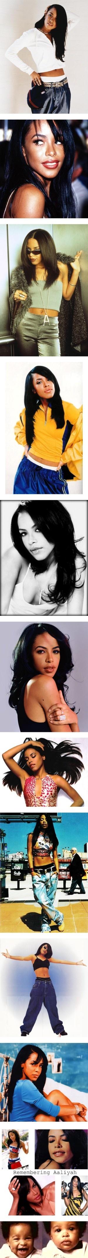 """Aaliyah Dana Haughton"" by rio-anon ❤ liked on Polyvore@Felicia G Fletcher"