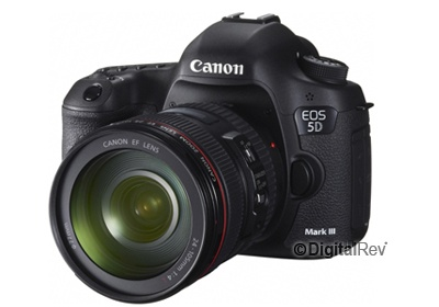 Canon EOS 5D Mark III with EF 24-105mm Lens kit--DigitalRev