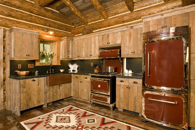 And Stainless Steel Appliances Can Take Away From The Rustic Look