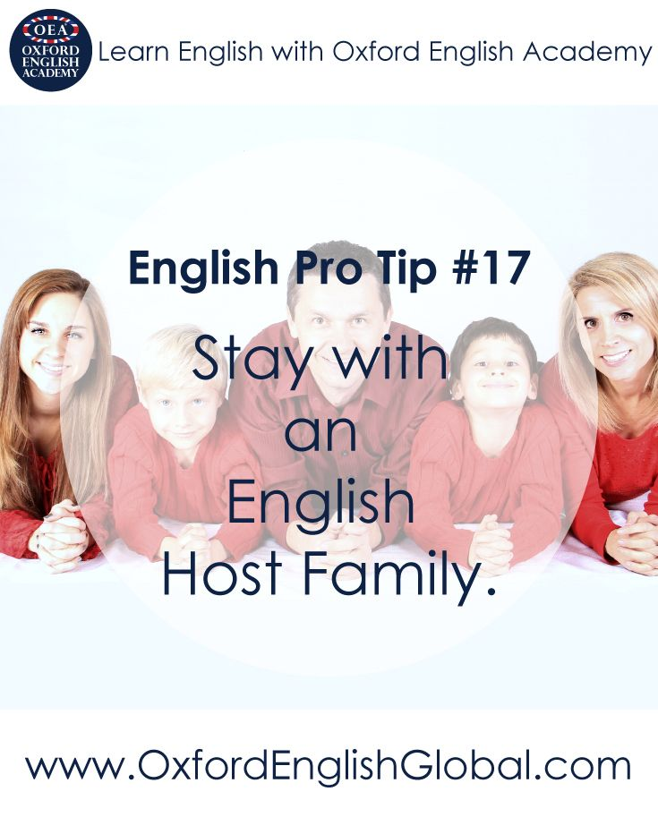 We offer host family accommodation at Oxford English Academy because we believe that this is a great way to learn English. You can speak English in a relaxed and supportive environment and also make English speaking friends. Click VISIT for more English learning hints and tips from the Oxford English Academy blog..#oxfordenglishacademy #learnenglish #learnenglishoxford #englishcourse