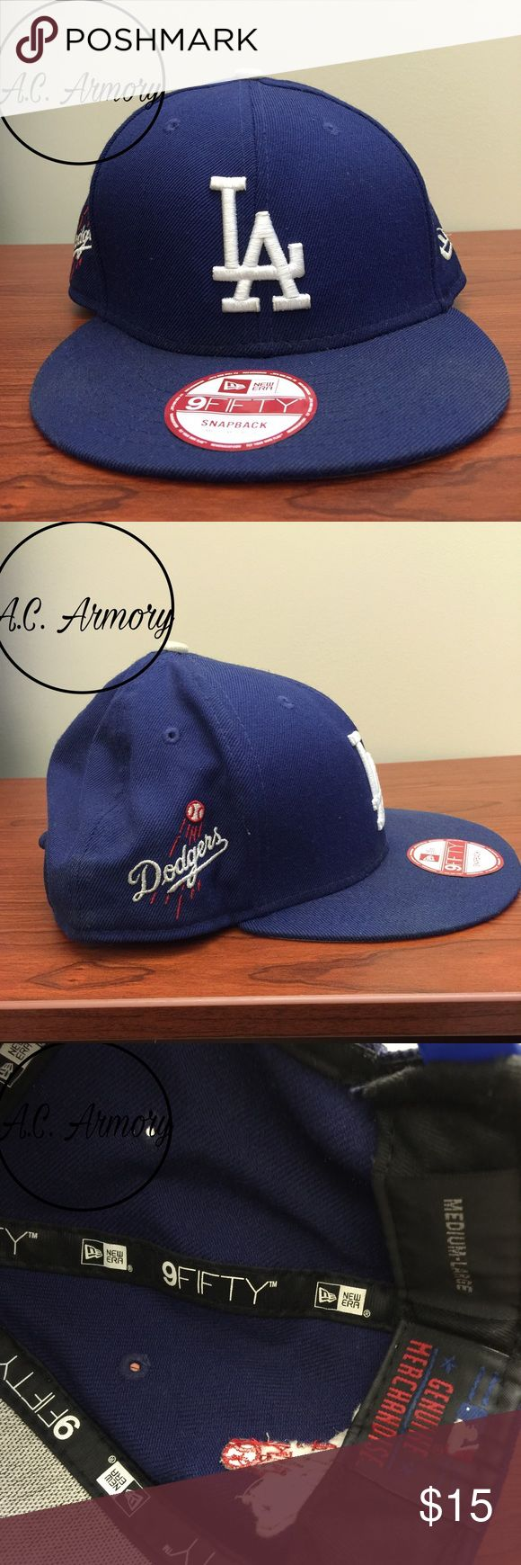 LA Dogers SnapBack Like new.                                                                 Be sure to follow @A.C.Armory on Instagram New Era Accessories Hats