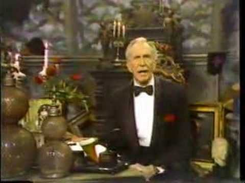 PBS Mystery! Intro 1984.  With the Edward Gorey inspired animation of Derek Lamb.  Vincent Price is host.  First episode of Jeremy Brett's Sherlock Holmes.  I couldn't get any better!