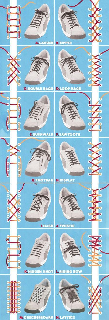 Legare stringhe scarpe