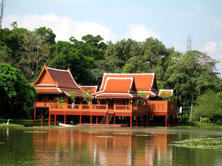 43 best images about thai architecture on pinterest for Thai classic house