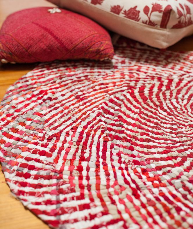 17 Best Ideas About Braided Rag Rugs On Pinterest