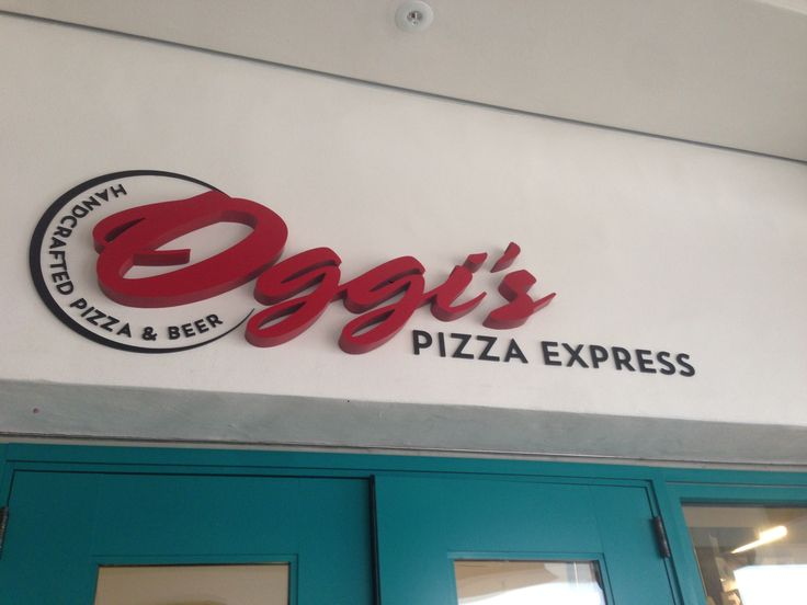 Oggi's Pizza Express is located in the Aztec Student Union. Here, you get to create your own pizza and choose the toppings!