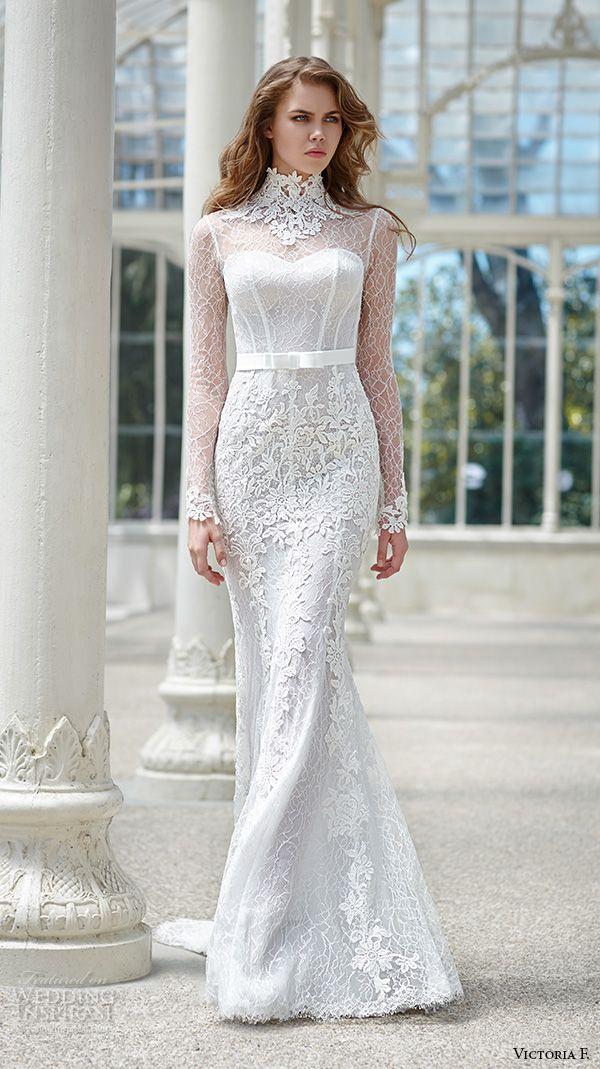 Top 100 Most Popular Wedding Dresses in 2015 Part 2 — Sheath, Fit & Flare, Trumpet, Mermaid & Column Bridal Gown Silhouettes   Wedding Inspirasi