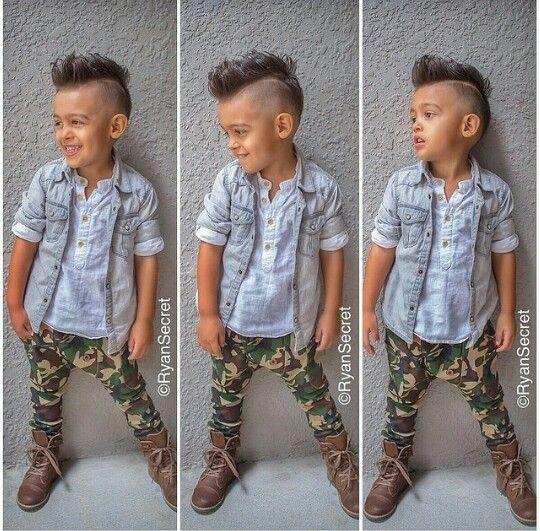 Cute kid   toddler/ baby boy fashion swag   Barn frisyrer ...