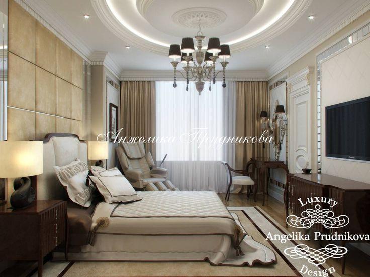 Дизайн интерьера гостевой спальни в классическом стиле на ул. Чайковского