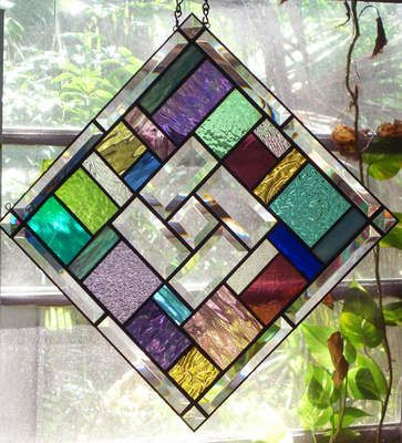 STAINED GLASS WINDOW PANEL QUILT DESIGN  BY SOUTHERN STAR - HANGS TWO WAYS!
