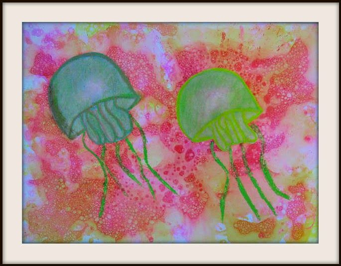 MaryMaking: Bubble Prints with Jellyfish