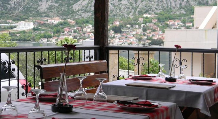 Hotel Galia is a great value 3 star hotel with killer views in Prcanj in the Bay of Kotor. #montenegro #prcanj