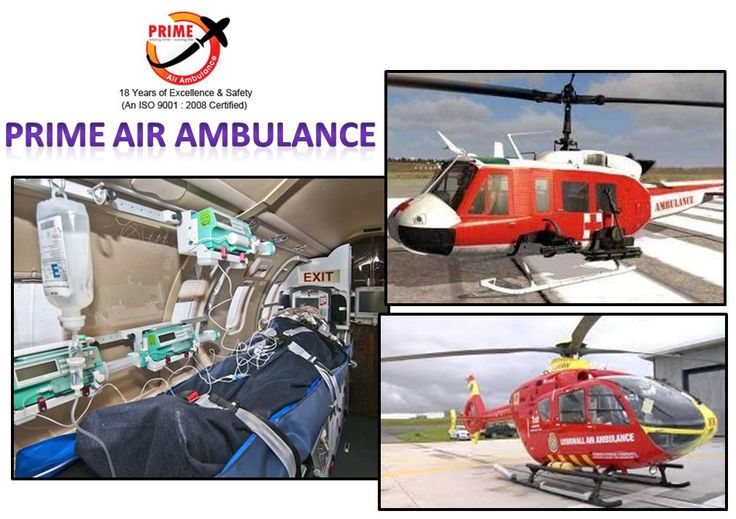 Contact Prime Air Ambulance Services in India