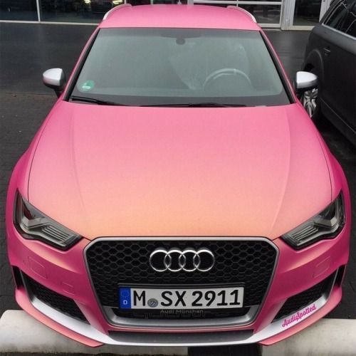 Image result for audi pink – – #Audi #cars