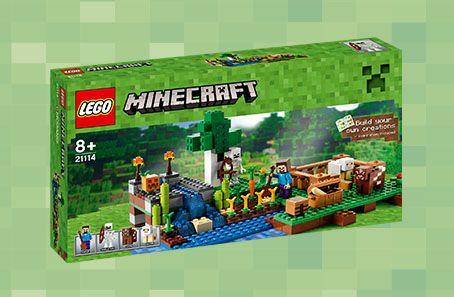 Lego Minecraft Farmen, 21114, 269,95 kr