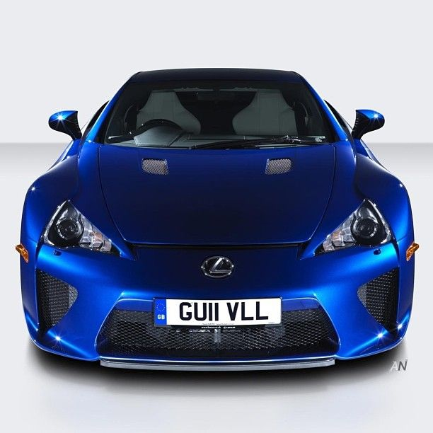 Blue Monster | Lexus LFA