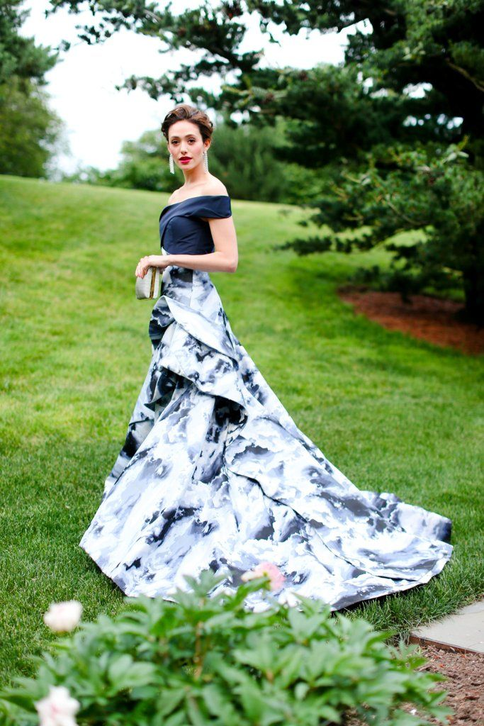When Emmy Rossum Walks Down the Aisle in This Dress, Everyone Will Fall in Love