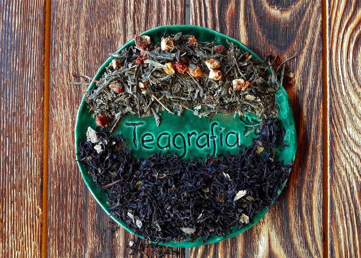 Чай недели: Чёрная смородина (чёрный) и Клубника со сливками (зелёный), приди за этими чаями и получи на них скидку 25%!😘