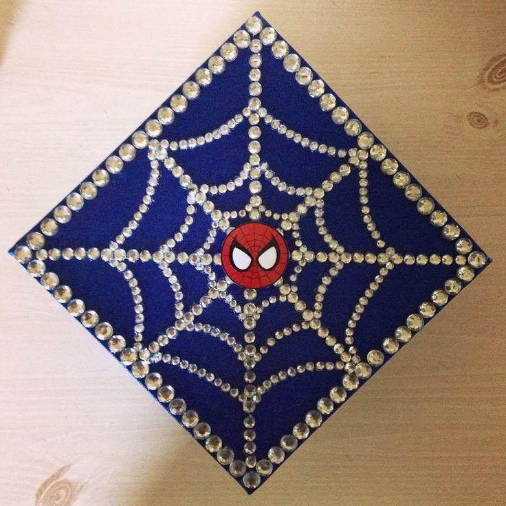 Spider-Man graduation cap! 2015