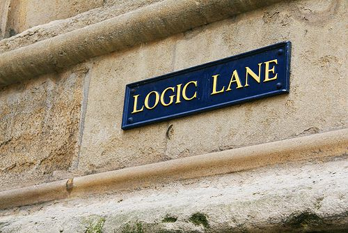 Logic Lane in Oxford.     This street makes so much sense:)