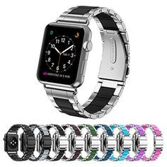 Greeninsync Strap Apple Watch 42mm Metal, Special Edition Apple Watch Stainless Steel Replacement Accessory Metal Band Wristbands Bracelet Strap W/ Silicone Cover Black for Apple Watch Series 3/2/1 Read more at SMART News : http://www.newtabapps.com/?p=23076 Key Features: Special edition stainless steel wristbands metal buckle clasp watch strap replacement bracelet with silicone cover for apple watch series 3/2/1 2017. Comes with Apple Watch bands on both ends, which lock