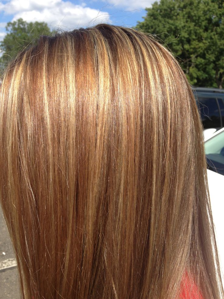 light brown hair color with highlights and lowlights