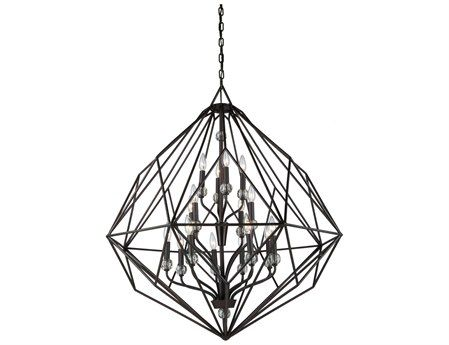 Artcraft Lighting Monterey Textured Silver 16-Light 36'' Wide Chandelier