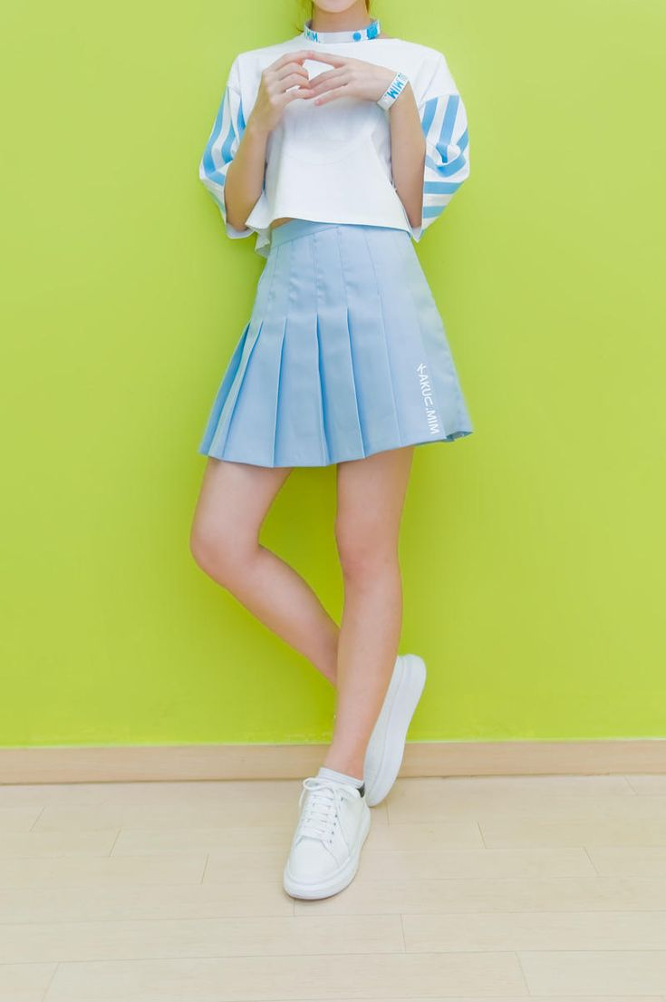 tennis skirt sky from Kakuu Basic. Saved to Kakuu Basic Skirts. Shop more products from Kakuu Basic on Wanelo.