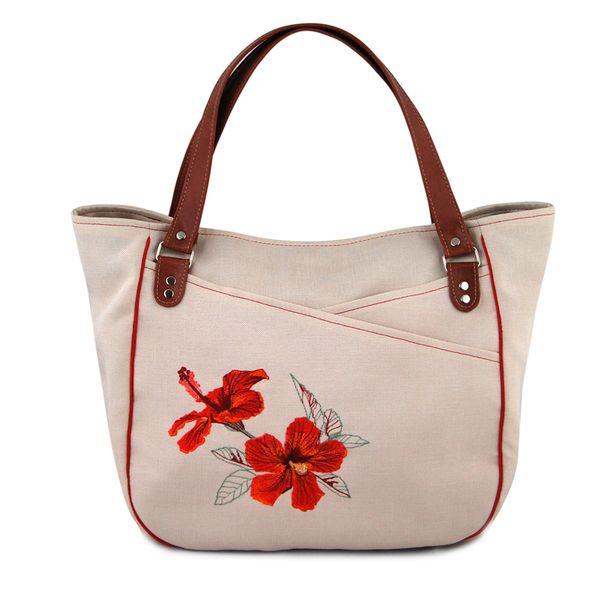 TAHITA hibiskus KREM w INCAT  na DaWanda.com