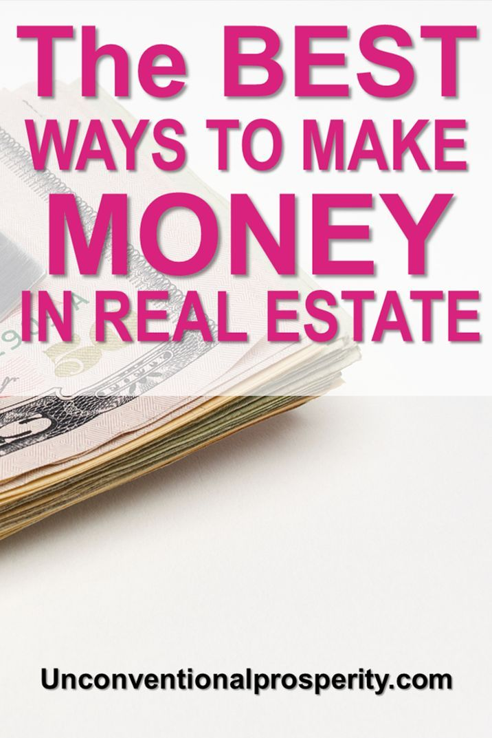 unconventional ways to make money in real estate
