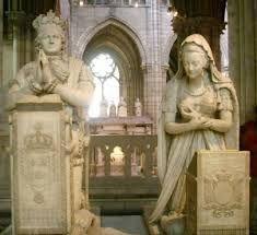 Marie Antoinette and King Louis XVI burial - Basilica of St Denis, Paris France