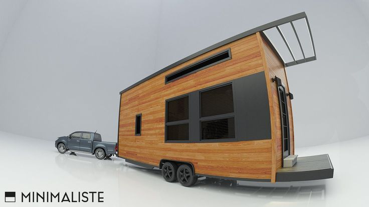This is Minimaliste Tiny Homes which is a new tiny house construction company out of the Quebec City area of Canada. And this is one of their very first tiny house designs. It's modern, spacious, a...