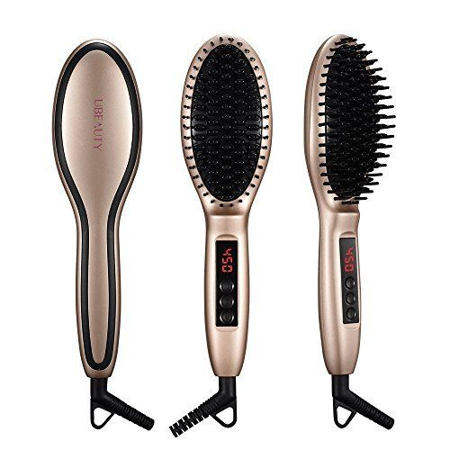 Paddle Hair Straightening Brush Thermo Hair Straightener with Fast Heat Up Anion Hair Care Anti Scald Auto-Lock for Curly Wavy Hair Detangling Hair Brush Dryer for Wet and Dry Hair This ranks among the best of the top selling products in Kitchen category in Canada. Click below to see its Availability and Price in YOUR country.