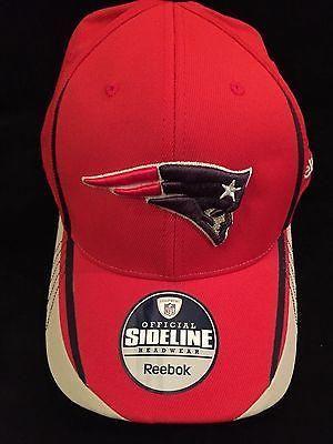 NFL New England Patriots Adult Small/Medium Reebok Flex Fit Hat  www.mancavesonline.com