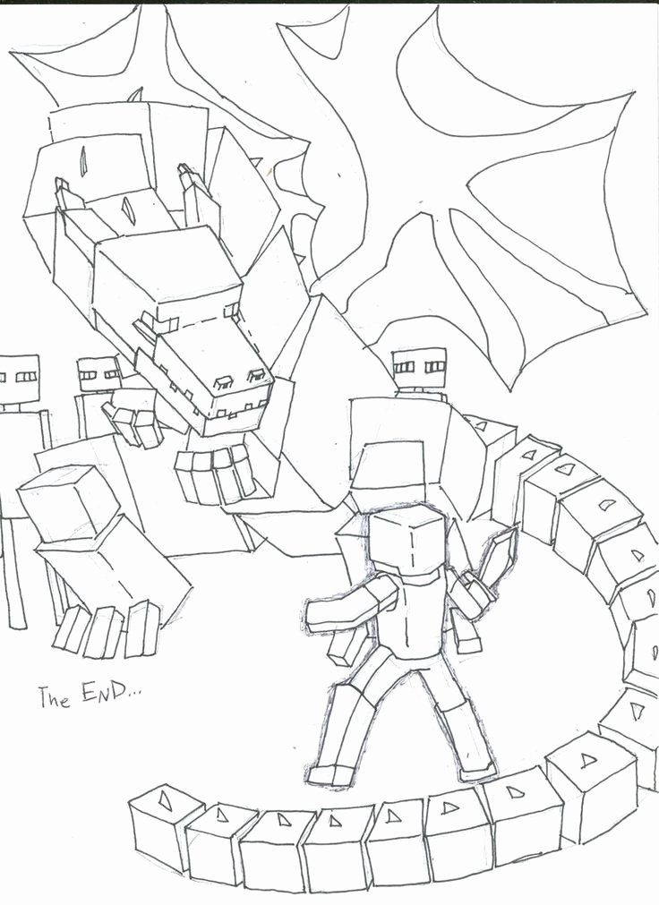 Ender Dragon Coloring Page Beautiful Ender Dragon Coloring Pages Google Search Dragon Coloring Page Minecraft Coloring Pages Unicorn Coloring Pages
