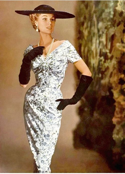 Jacques Fath couture, 1955