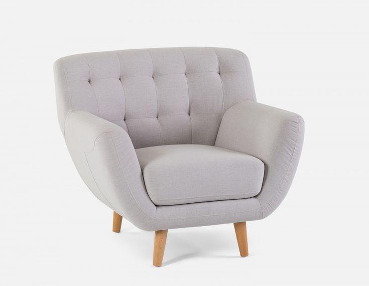 HALEY - Armchair - Silver