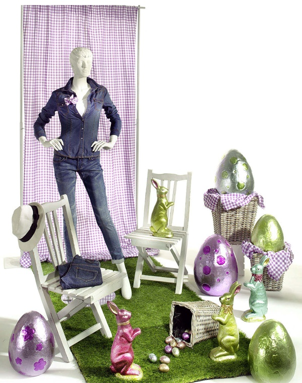 Idee Vetrine Pasqua 2013
