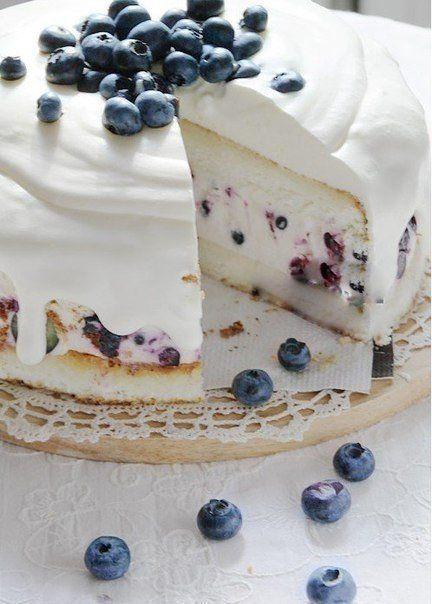 Торт-суфле творожный.