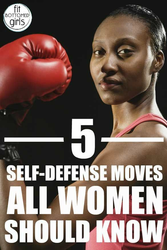 Five moves all women should know for self-defense! | Fit Bottomed Girls