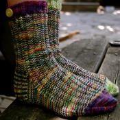 A Study in Scraps: Sock #1 - via @Craftsy