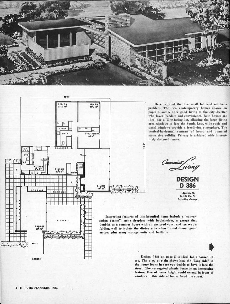 5667 best Floor Plans images on Pinterest Vintage house plans