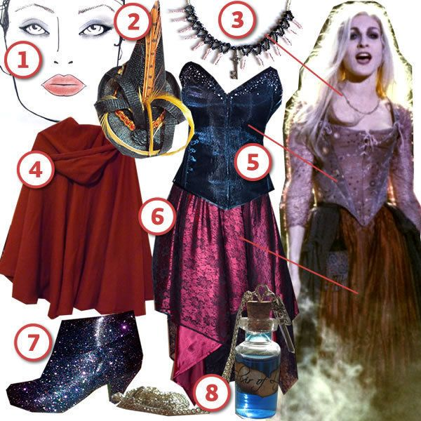 Get Sarah's look from Hocus Pocus!