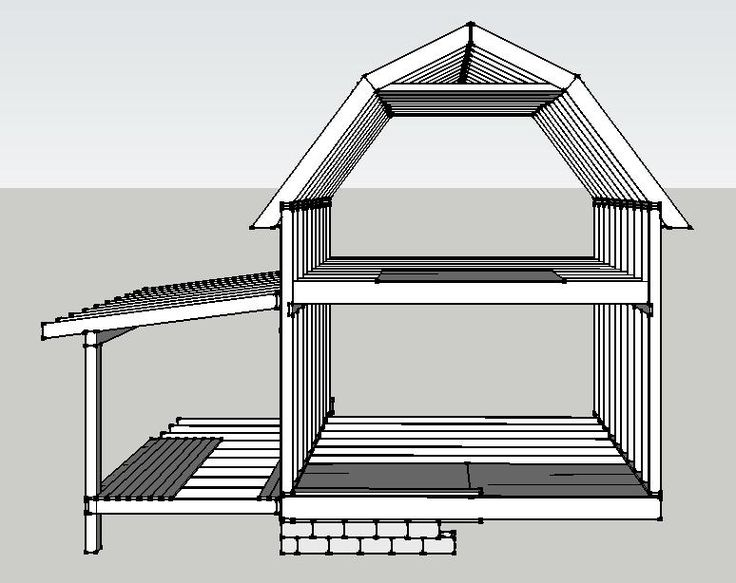 25 best ideas about gambrel roof on pinterest dream for Gambrel shed plans with loft