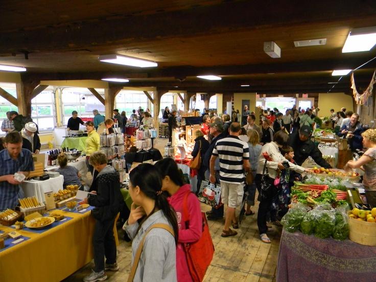 Busy day | Wolfville Farmers' Market